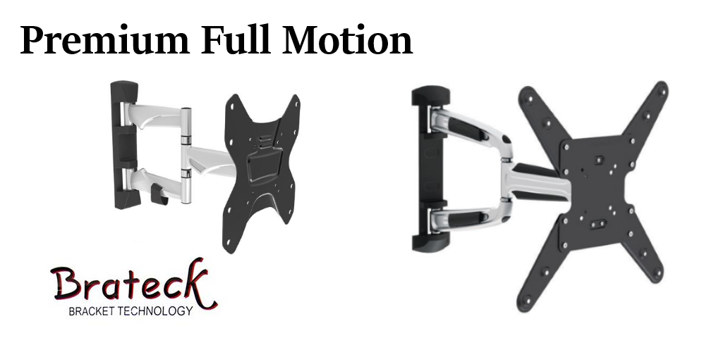 articulate full motion tv wall bracket