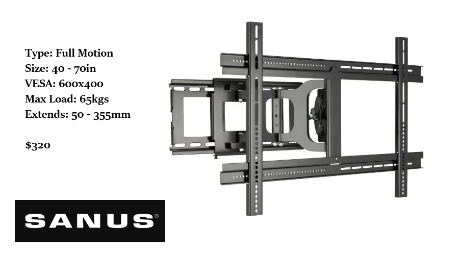 Sanus TV wall mount bracket