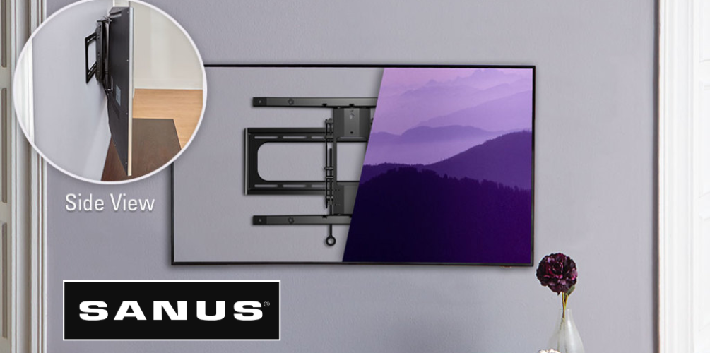 sanus tv wall mount brackets